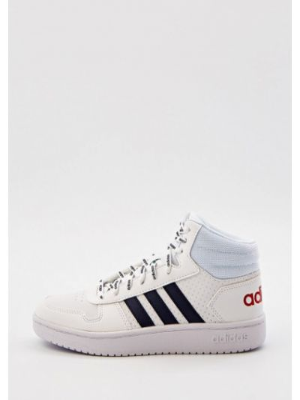 Кожаные кеды - белые Adidas
