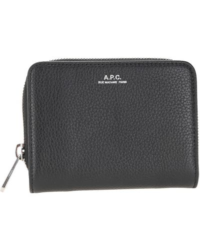 Czarny portfel A.p.c.