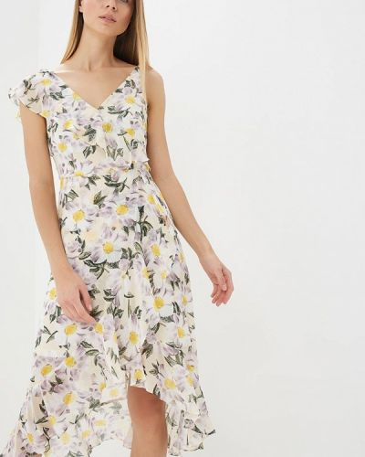 Бежевое платье весеннее Dorothy Perkins