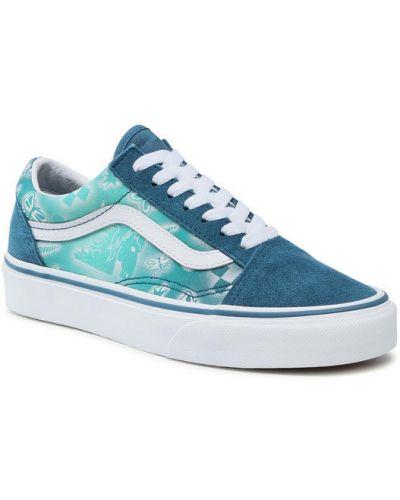 Niebieskie tenisówki Vans