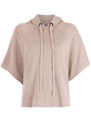 Блузка летучая мышь - розовая Osklen