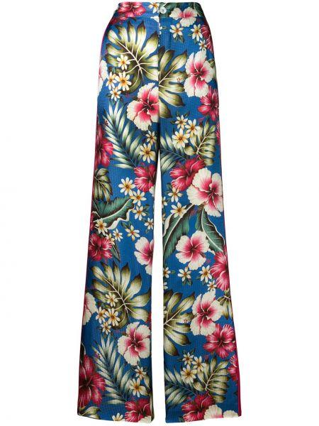 Свободные брюки с карманами свободного кроя на молнии из вискозы F.r.s. For Restless Sleepers
