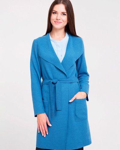 Пальто - голубое Dlys