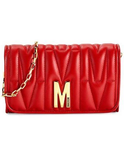 Кожаный кошелек Moschino