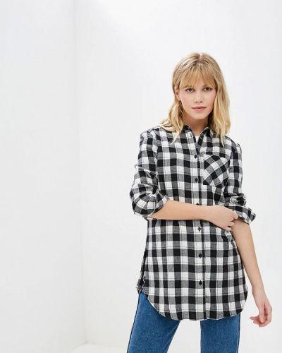 Рубашка с длинным рукавом черная Fresh Brand