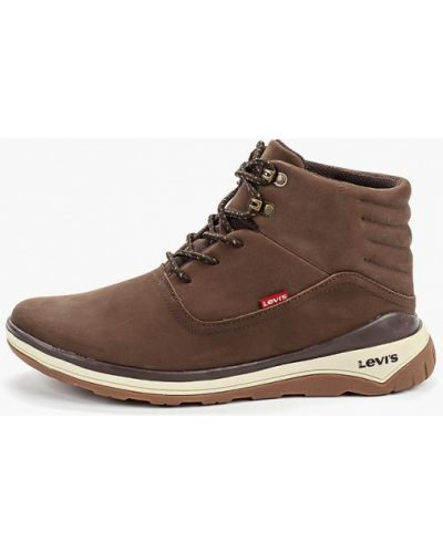 Высокие кроссовки коричневый из нубука Levi's®