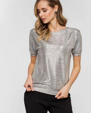 Блузка серебряный Mokko Brand