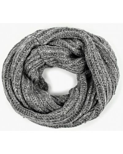 Серый шарф осенний Ostin