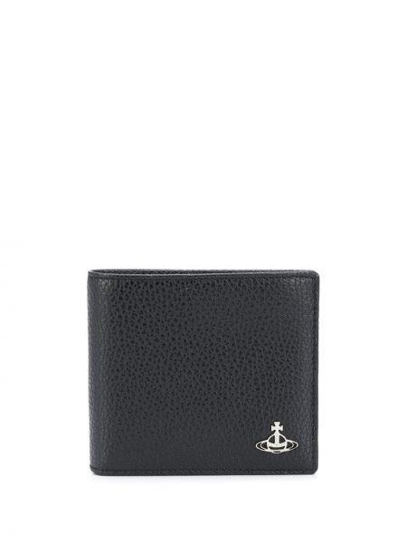 Кожаный бумажник - черный Vivienne Westwood