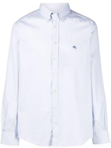 Koszula z długim rękawem długa puchaty Etro