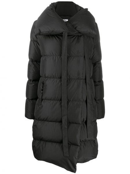 Длинное пальто - черное Bacon