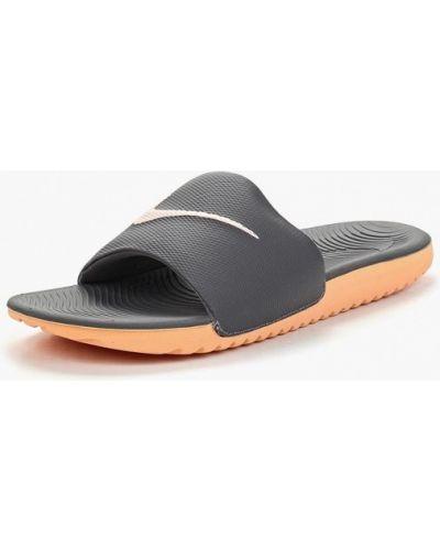 Серые сланцы Nike