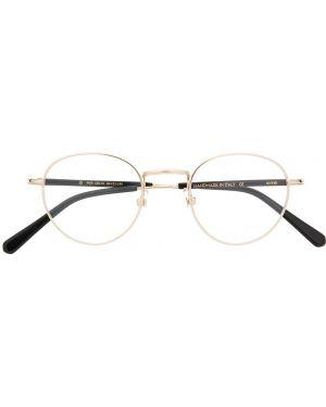 Желтые очки для зрения круглые Kyme