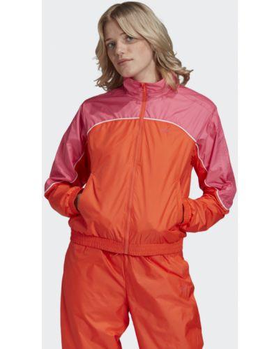 Красная олимпийка Adidas