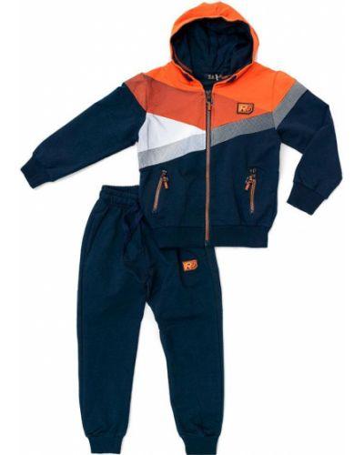 Костюмный оранжевый спортивный костюм S&d