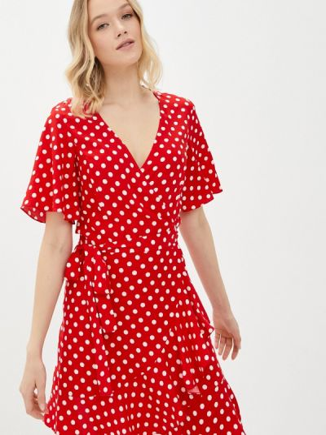 Красное платье Self Made