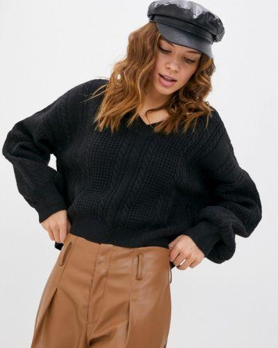 Черный пуловер Moocci
