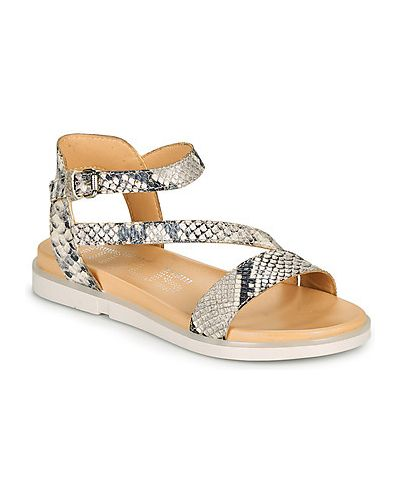 Sandały srebrne Mjus