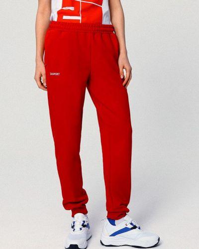 Спортивные брюки - красные Zasport