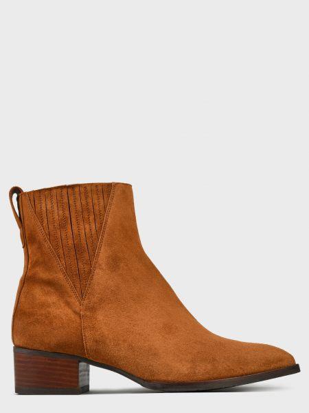 Кожаные ботинки - коричневые Pertini