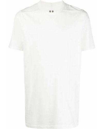 Biała t-shirt Rick Owens