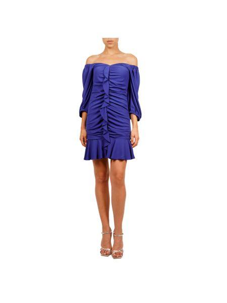 Niebieska sukienka Hanita