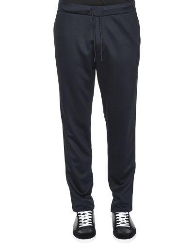 Спортивные брюки из вискозы Emporio Armani
