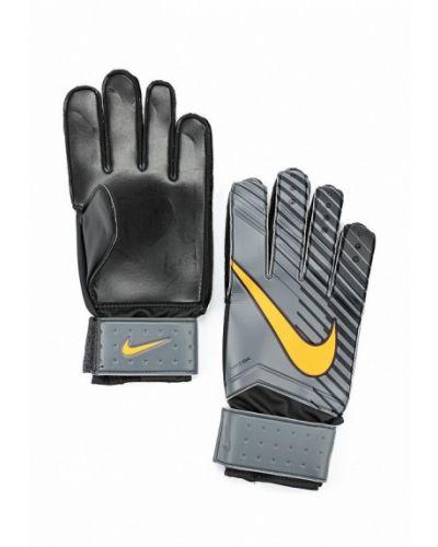 Серые перчатки весенние Nike