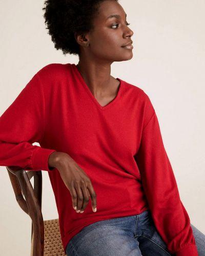 Красный пуловер Marks & Spencer