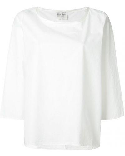 Блузка хлопковая с вырезом Forte Forte