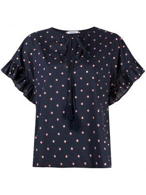 Розовая блузка в горошек круглая P.a.r.o.s.h.