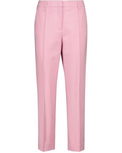 Klasyczne różowe spodnie z wiskozy Dorothee Schumacher