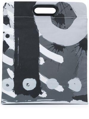 Biała kopertówka Homme Plisse Issey Miyake
