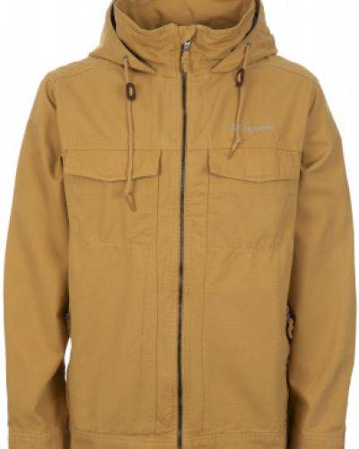 Спортивная куртка с капюшоном хлопковая Columbia