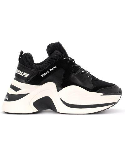 Sneakersy na platformie Naked Wolfe