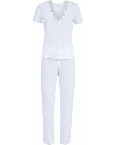 Пижама с короткими рукавами из вискозы La Perla