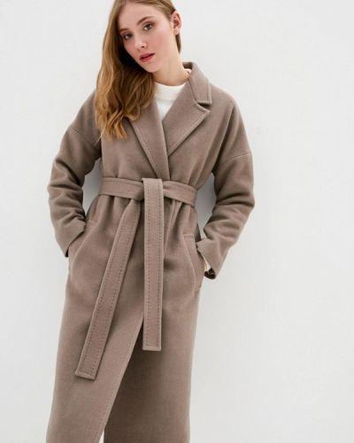 Коричневое пальто Florens