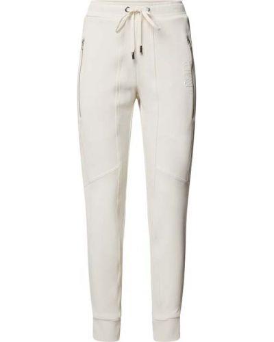 Białe spodnie sportowe Cambio