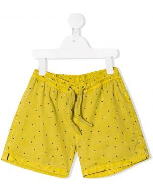 Желтые шорты Buho