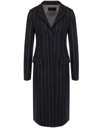Пальто приталенное шерстяное Loro Piana