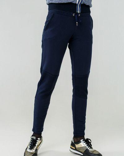 Спортивные брюки весенний синие Ora