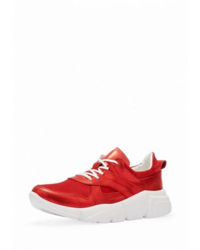 Красные кроссовки низкие Emmelie Delage