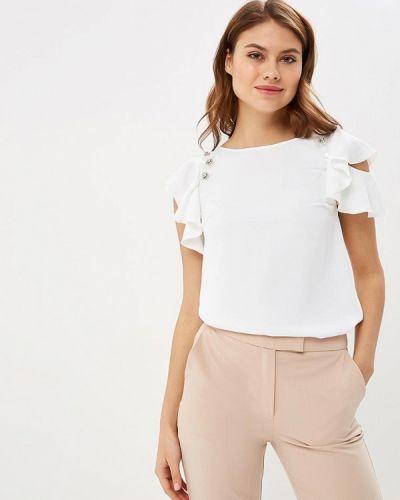 Блузка с коротким рукавом белый Love Republic