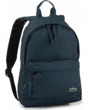 Zielony plecak Lacoste