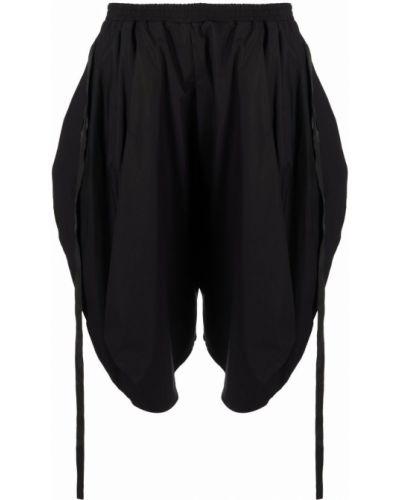 Черные шорты с завышенной талией Barbara Bologna