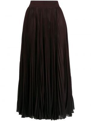С завышенной талией шифоновая плиссированная юбка Dolce & Gabbana