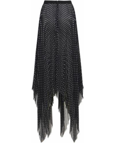 Асимметричная юбка - черная Prabal Gurung