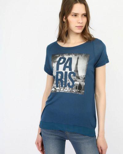 Синяя футбольная футболка Alcott