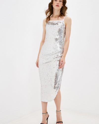 Серебряное платье Anastasya Barsukova