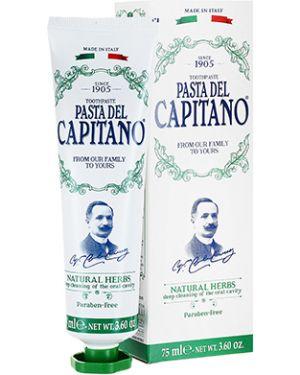 Зубная паста натуральная очищающий Pasta Del Capitano